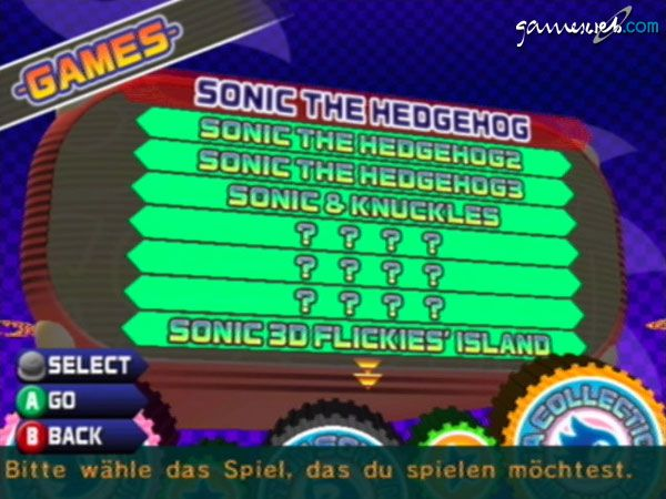 Sonic Mega Collection - Screenshots - Bild 2