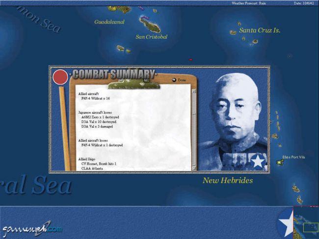 Uncommon Valour: Campaign for the South Pacific  Archiv - Screenshots - Bild 13