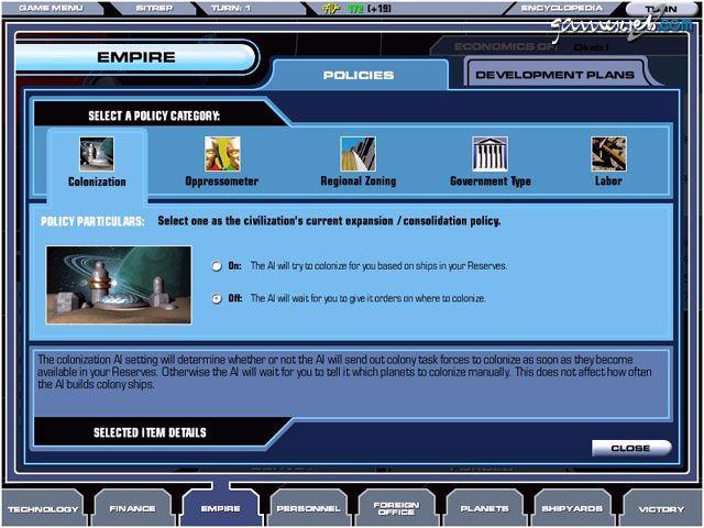 Master of Orion III - Screenshots - Bild 14