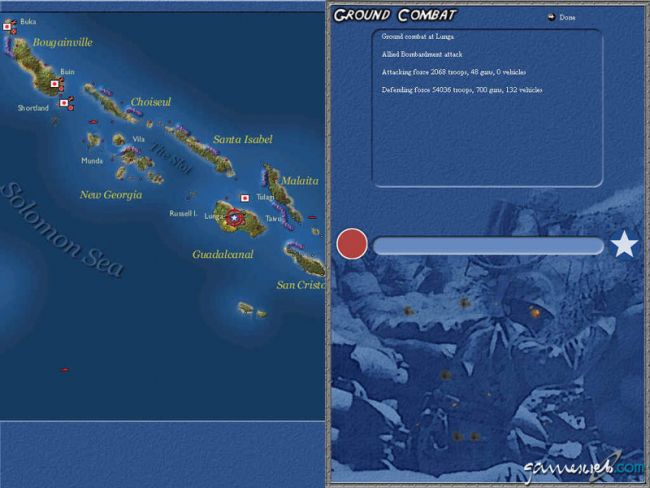 Uncommon Valour: Campaign for the South Pacific  Archiv - Screenshots - Bild 10