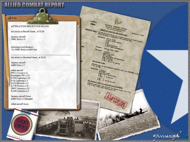 Uncommon Valour: Campaign for the South Pacific  Archiv - Screenshots - Bild 7