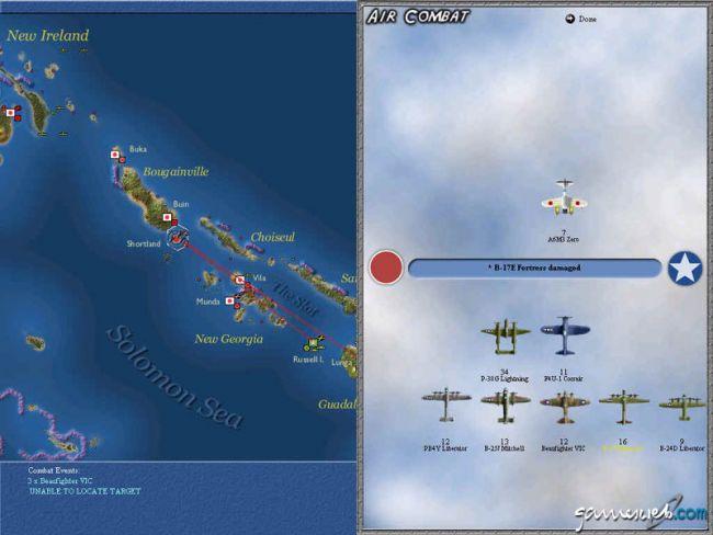 Uncommon Valour: Campaign for the South Pacific  Archiv - Screenshots - Bild 4