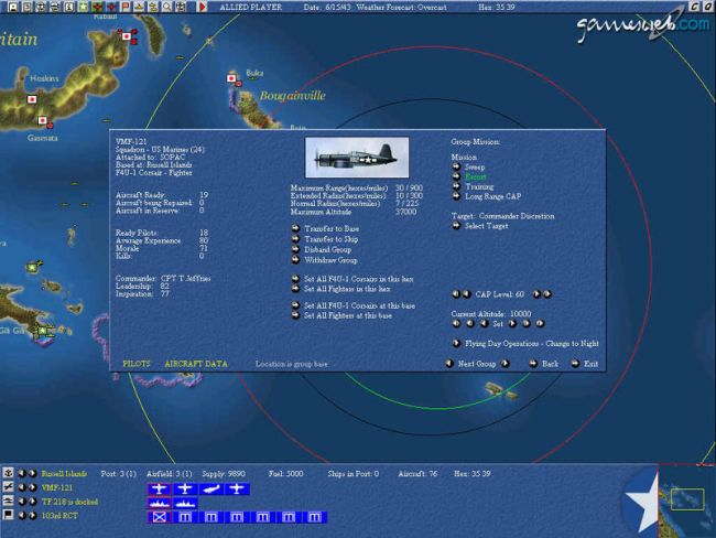 Uncommon Valour: Campaign for the South Pacific  Archiv - Screenshots - Bild 2