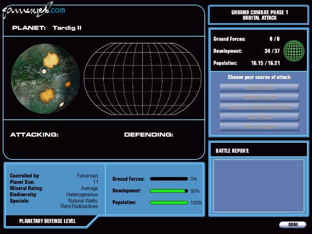 Master of Orion III - Screenshots - Bild 4