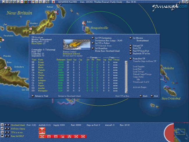 Uncommon Valour: Campaign for the South Pacific  Archiv - Screenshots - Bild 8