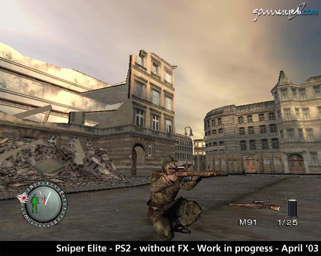 Sniper Elite  Archiv - Screenshots - Bild 16