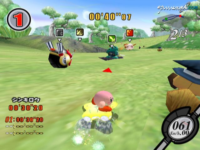 Kirby's Air Ride  Archiv - Screenshots - Bild 2