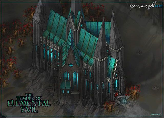 Greyhawk: The Temple of Elemental Evil  Archiv - Artworks - Bild 13