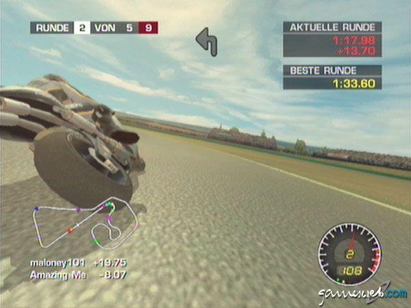 MotoGP: Ultimate Racing Technology 2 - Screenshots - Bild 16