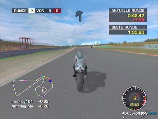 MotoGP: Ultimate Racing Technology 2 - Screenshots - Bild 12