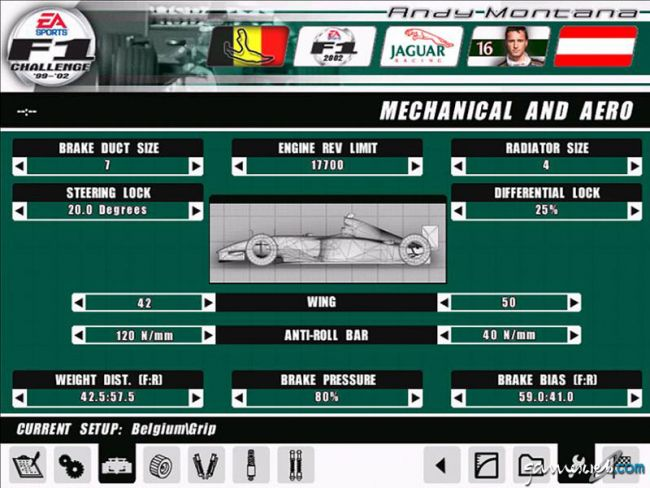 F1 Challenge 1999-2002 - Screenshots - Bild 3
