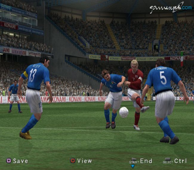 Pro Evolution Soccer 3  Archiv - Screenshots - Bild 26