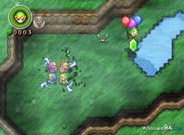 Legend of Zelda: Four Swords Adventures  Archiv - Screenshots - Bild 36