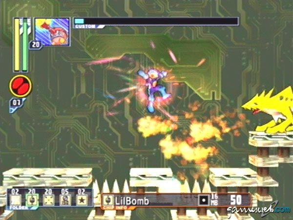 Mega Man Network Transmission - Screenshots - Bild 4