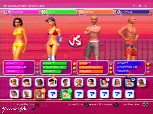 Summer Heat Beach Volleyball - Screenshots - Bild 4