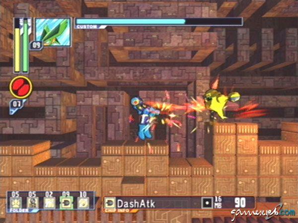 Mega Man Network Transmission - Screenshots - Bild 18