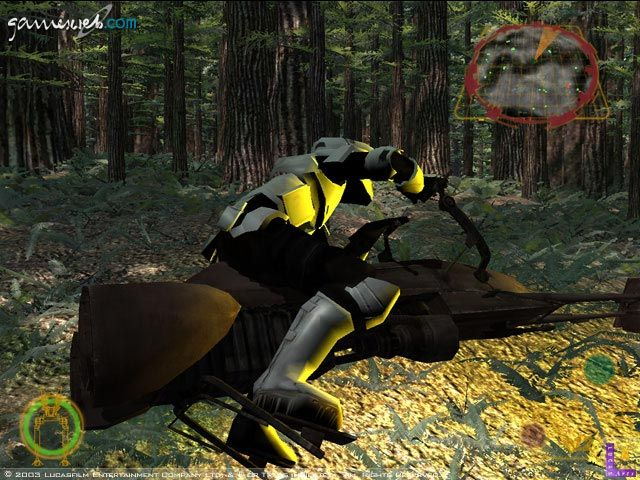 Star Wars Rogue Squadron III: Rebel Strike  Archiv - Screenshots - Bild 9