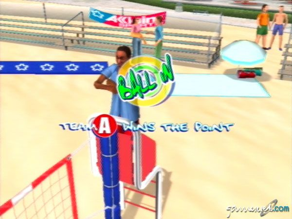 Summer Heat Beach Volleyball - Screenshots - Bild 5