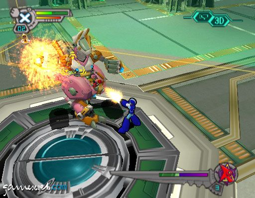 MegaMan X7  Archiv - Screenshots - Bild 4