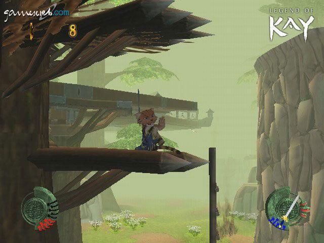 Legend of Kay  Archiv - Screenshots - Bild 2