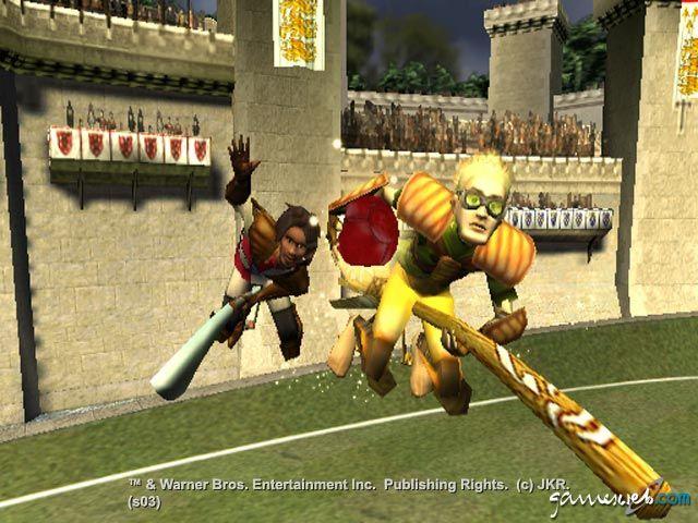 Harry Potter: Quidditch-Weltmeisterschaft  Archiv - Screenshots - Bild 4