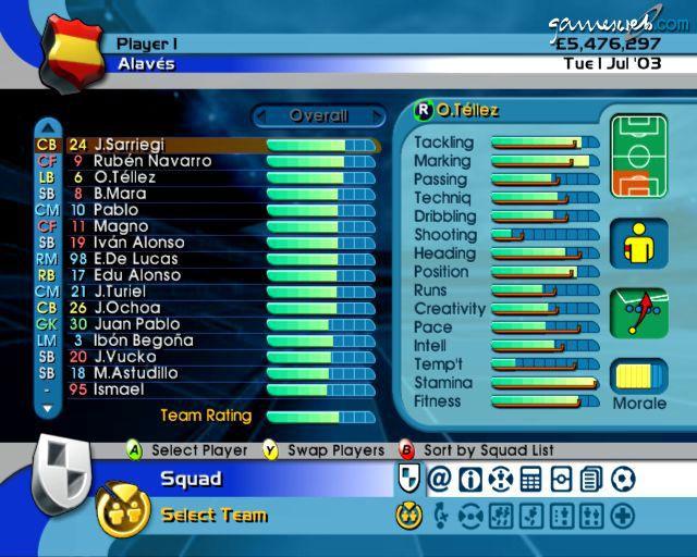 BDFL Manager 2004  Archiv - Screenshots - Bild 9