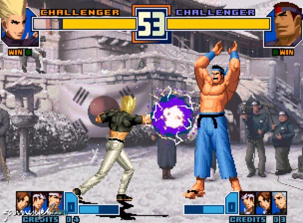 King of Fighters 2001  Archiv - Screenshots - Bild 9