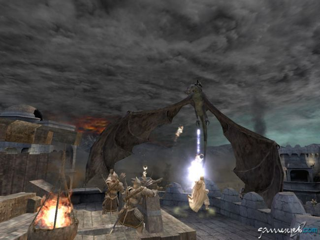 Lord of the Rings: The Return of the King  Archiv - Screenshots - Bild 9