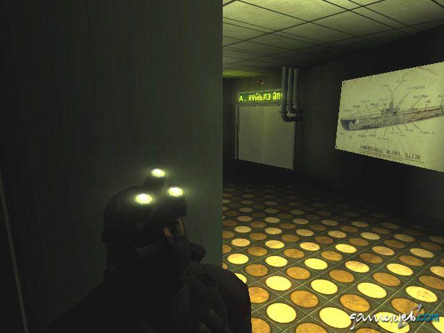 Splinter Cell - Screenshots: Bonus-Level: Vselka Infiltration Archiv - Screenshots - Bild 7