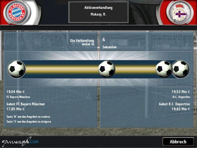 Fussball Manager 2004  Archiv - Screenshots - Bild 19