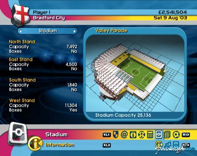 BDFL Manager 2004  Archiv - Screenshots - Bild 4
