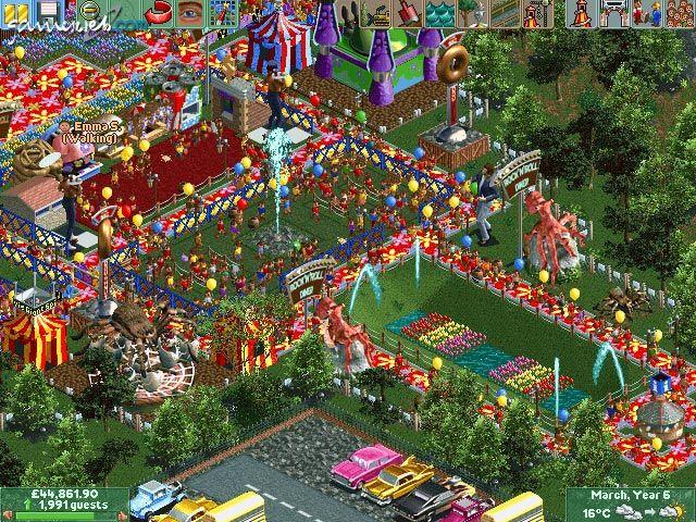 RollerCoaster Tycoon 2: Time Twister  Archiv - Screenshots - Bild 16