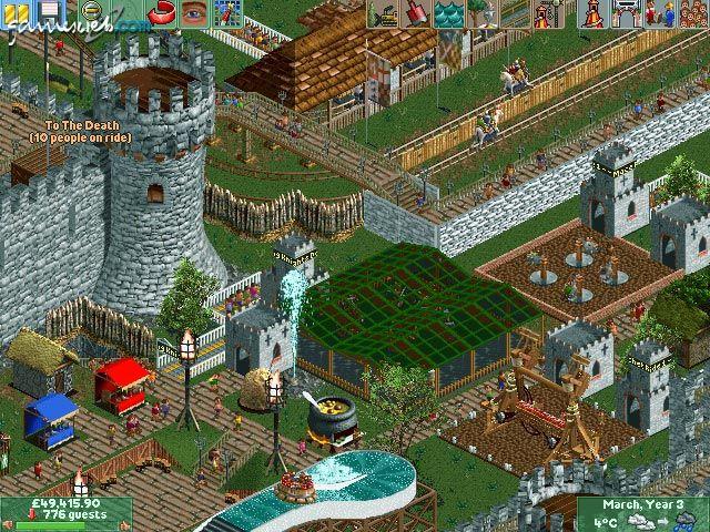 RollerCoaster Tycoon 2: Time Twister  Archiv - Screenshots - Bild 2