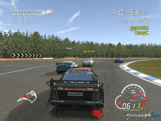 DTM Race Driver: Directors Cut LIVE  Archiv - Screenshots - Bild 6