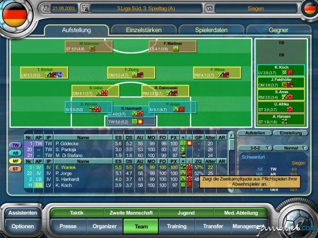 Anstoss 4 Edition 03/04 - Screenshots - Bild 11