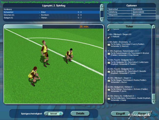 Anstoss 4 Edition 03/04 - Screenshots - Bild 10