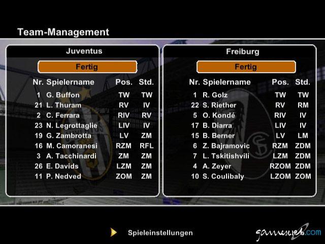 FIFA 2004 - Screenshots - Bild 5