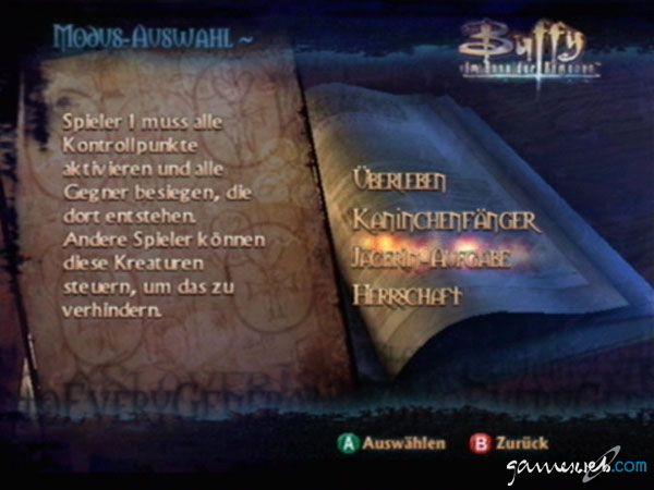 Buffy the Vampire Slayer: Chaos Bleeds - Screenshots - Bild 4