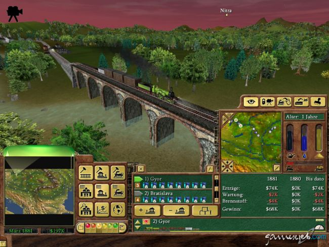 Railroad Tycoon 3 - Screenshots - Bild 4