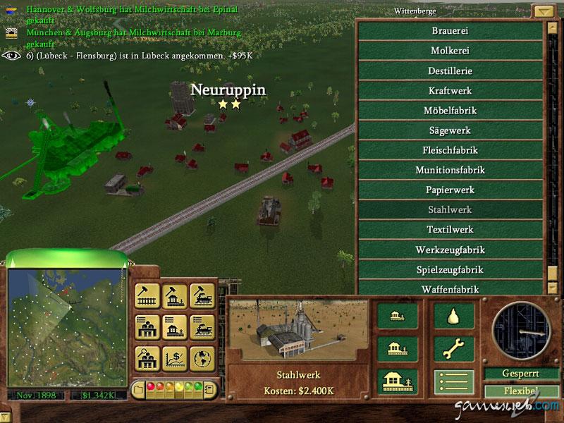 Railroad Tycoon 3: - Screenshots von Gameswelt