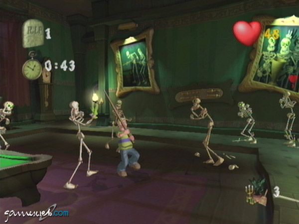 Grabbed by the Ghoulies - Screenshots - Bild 7