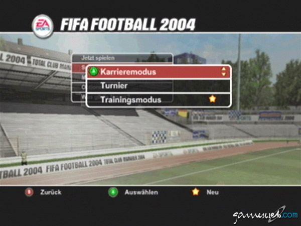 FIFA 2004 - Screenshots - Bild 2