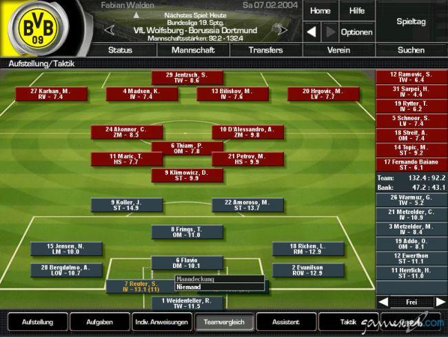Fussball Manager 2004 - Screenshots - Bild 6