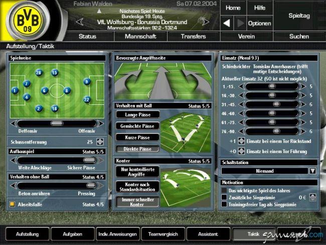 Fussball Manager 2004 - Screenshots - Bild 7