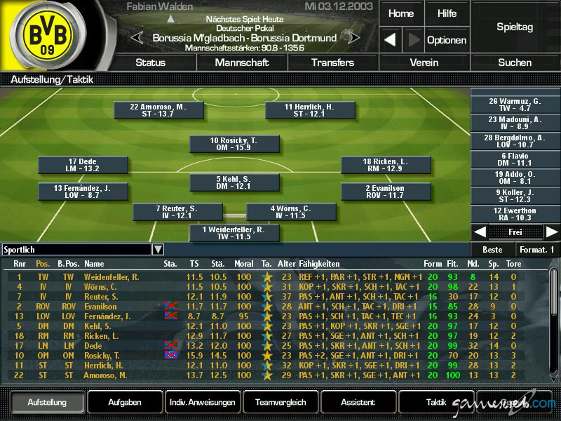 Fussball Manager 2004 Download Vollversion