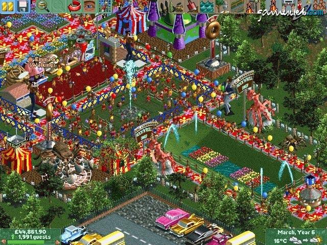 Roller Coaster Tycoon (good old retro games!) - Toribash