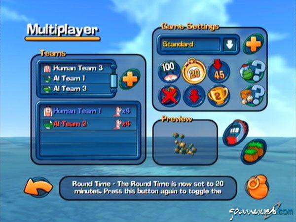 Worms 3D - Screenshots - Bild 4