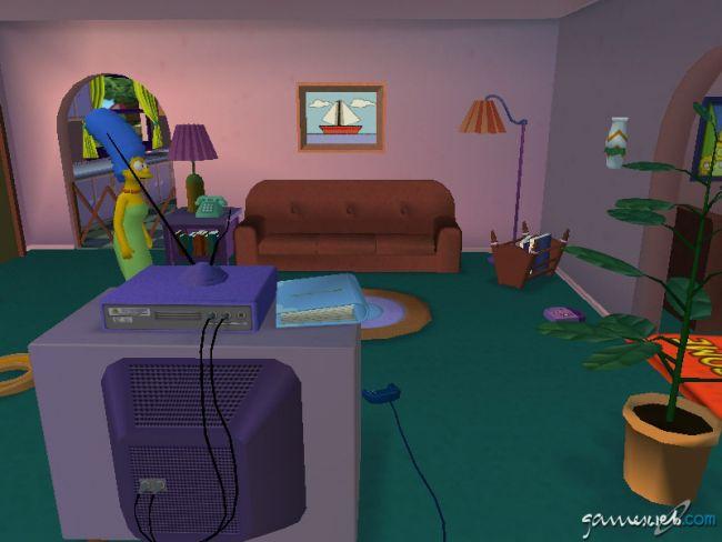 The Simpsons: Hit & Run - Screenshots - Bild 3