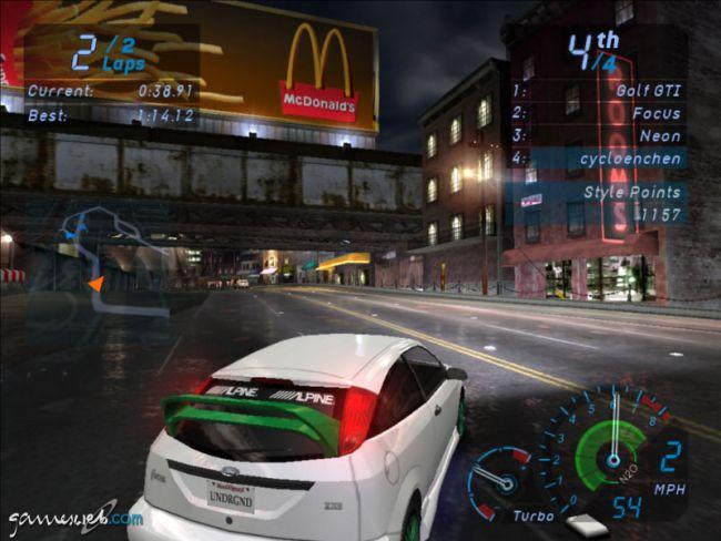 Need for Speed: Underground - Screenshots - Bild 15