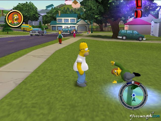 The Simpsons: Hit & Run - Screenshots - Bild 4